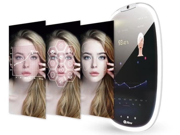 face, mirror