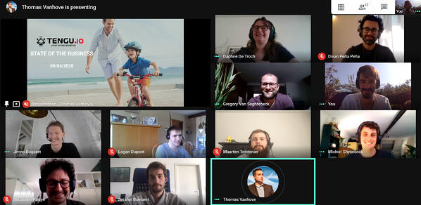 Our online state of the business meeting
